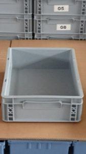 Lagerbox grau