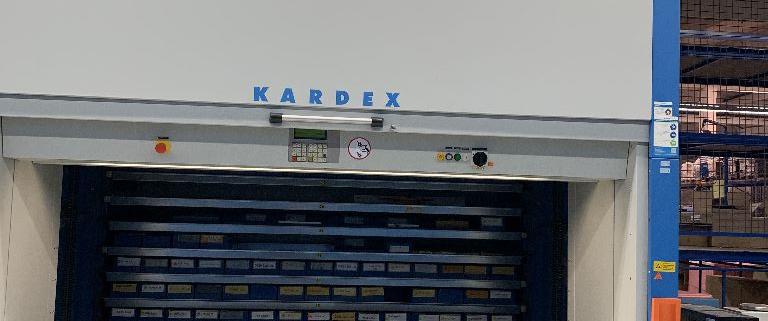 Kardex Shuttle NT 2500x825